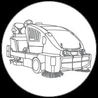 Combination-Scrubber-Sweeper-Machine