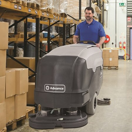 SC900 Battery Powered Walk Behind Scrubber Dryer