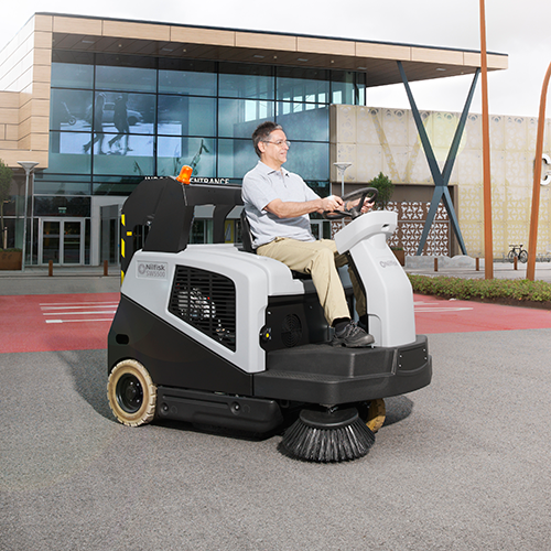 SW5500 Ride-On Sweeper