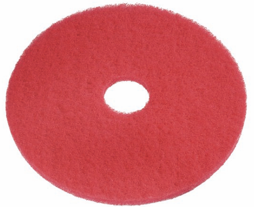 [PDRED14] Red Scrubbing Pad 14''