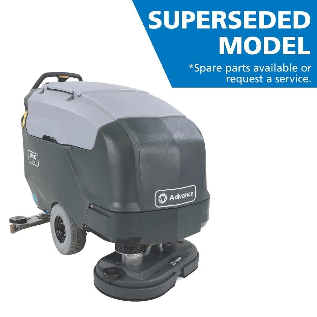 Nilfisk SC900 Walk Behind Scrubber Dryer