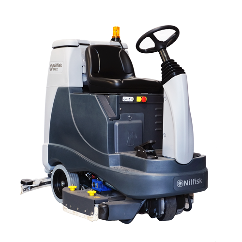 [56601015PA] BR855 Battery Powered Ride-On Scrubber Dryer