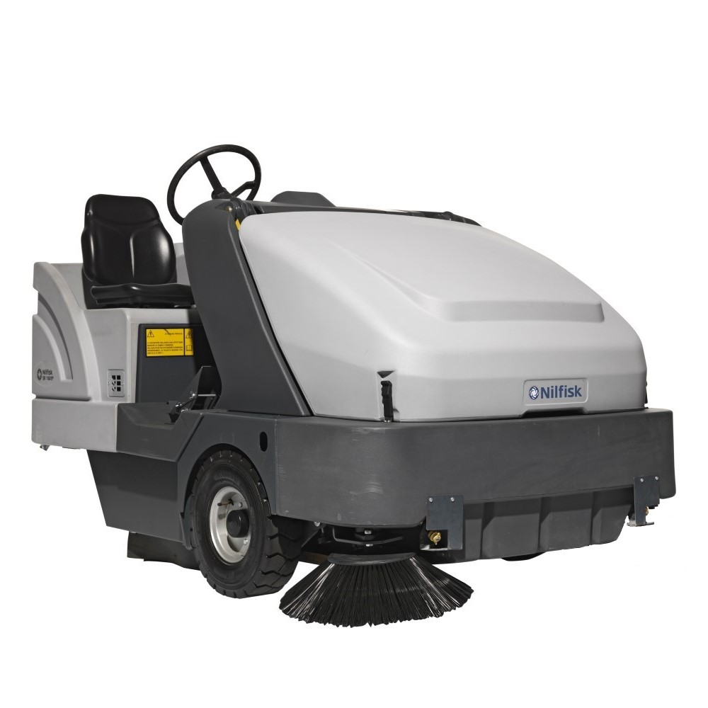 Nilfisk SR1601 Industrial Ride-On Sweeper