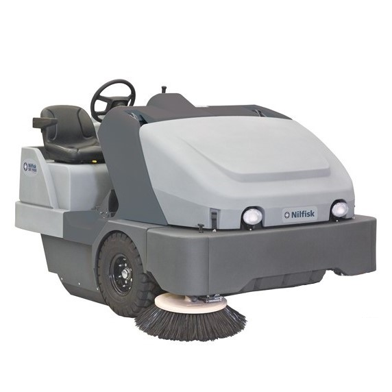 Nilfisk SW8000 Industrial Ride-On Sweeper