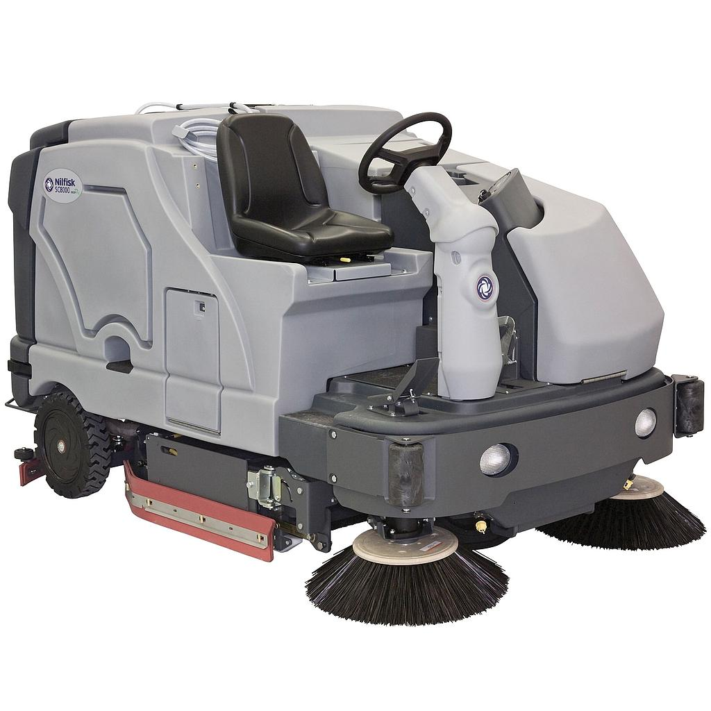SC8000 Industrial Scrubber-Sweeper