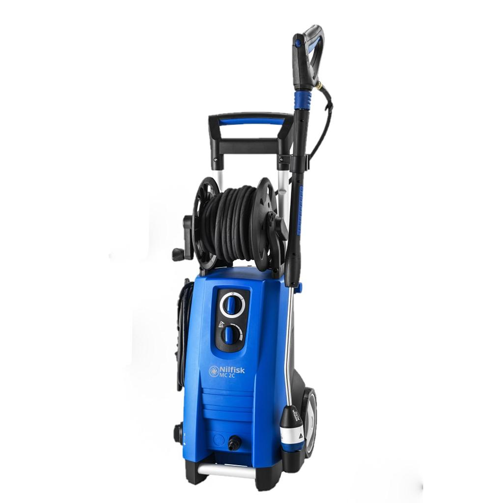[128471022] Nilfisk MC 2C 120/520 XT Pressure Washer (with in-built hose reel)