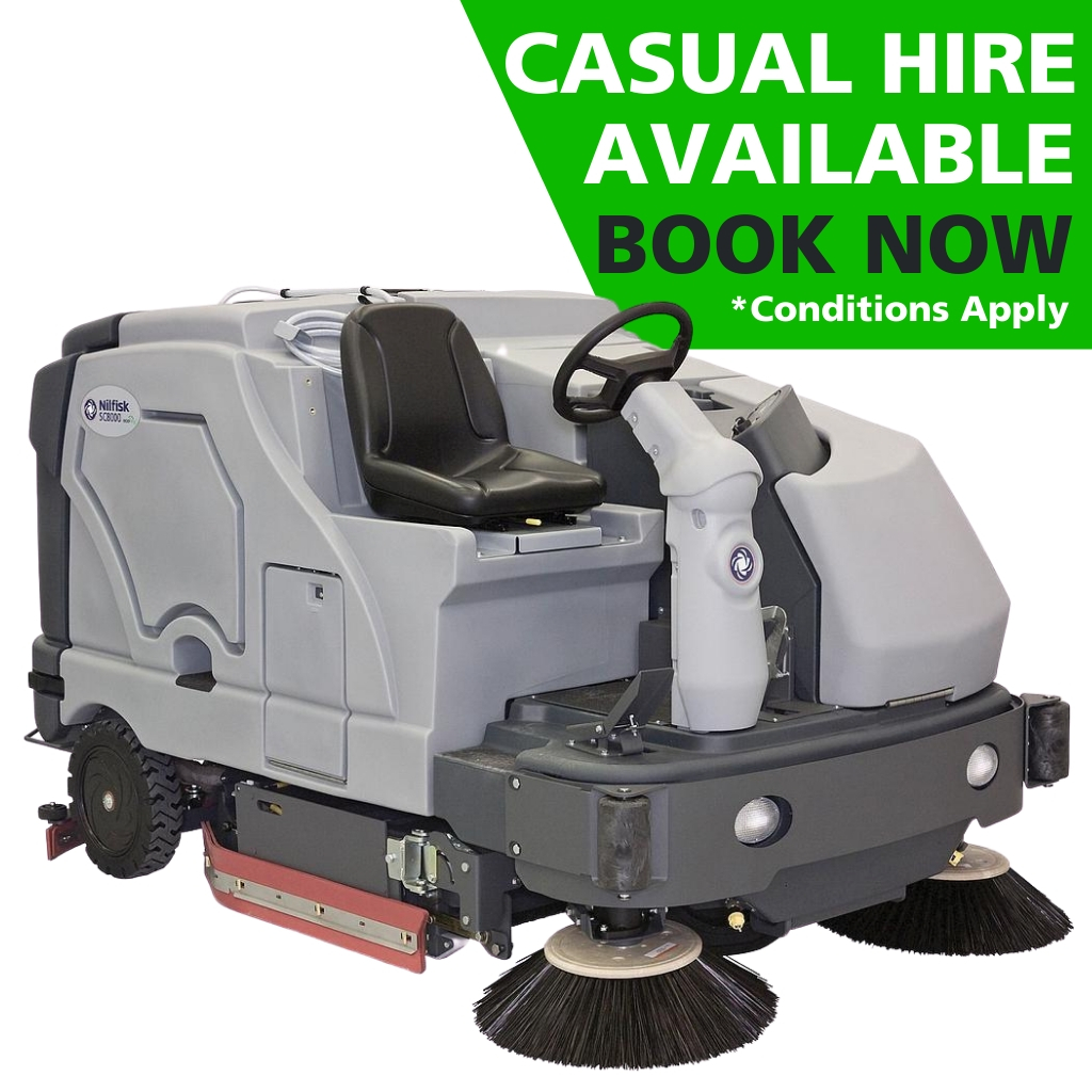Hire SC8000 Industrial Scrubber-Sweeper