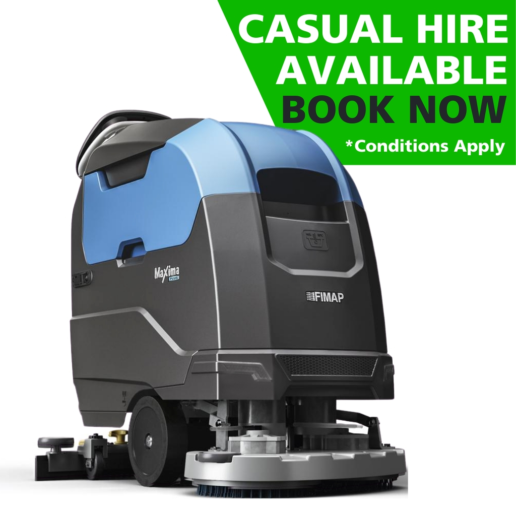 Hire Fimap Maxima Base 60Bt Walk-Behind Disc Scrubber Dryer